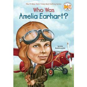 Who Was Amelia Earhart? (Paperback)