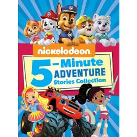 Nickelodeon 5-Minute Adventure Stories (Nickelodeon) (Hardcover)