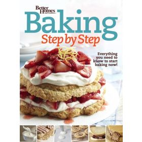 Baking Step by Step: Better Homes and Gardens (Paperback)