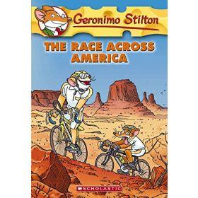 The Race Across America: Geronimo Stilton, Book 37 (Paperback)