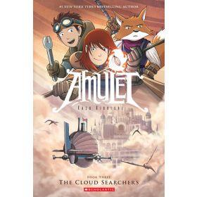 The Cloud Searchers: Amulet, Book 3 (Paperback)