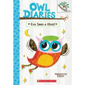 Eva Sees a Ghost: Owl Diaries, Book 2 (Paperback)