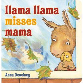 Llama Llama Misses Mama (Board Book)