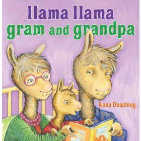 Llama Llama Gram and Grandpa (Board Book)
