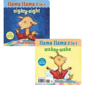Llama Llama 2-in-1 Wakey-Wake/Nighty-Night (Board Book)