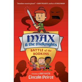 Max and the Midknights: Battle of the Bodkins Book 2, Signed Copy (Hardcover)