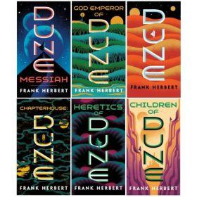 Frank Herbert's Dune Saga, 6-Book Boxed Set (Paperback)