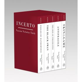 Incerto: Fooled by Randomness, The Black Swan, The Bed of Procrustes, Antifragile, Skin in the Game, 5-Book Boxed Set (Paperback)