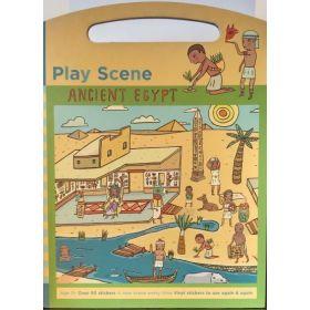 Ancient Egypt, Play Scene/Sticker (Hardcover)