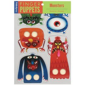 Mudpuppy: Monsters Finger Puppets (Toys)