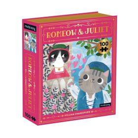Mudpuppy: Romeow & Juliet Bookish Cats 100 Piece (Puzzle)