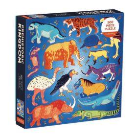 Prehistoric Kingdom 500 Piece Family Puzzle