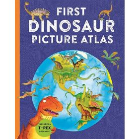 First Dinosaur Picture Atlas: Kingfisher First Reference (Hardcover)