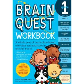Brain Quest Workbook: Grade 1 (Paperback)