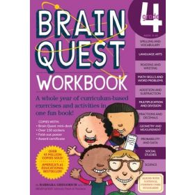 Brain Quest Workbook: Grade 4 (Paperback)