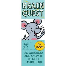 Brain Quest for Threes, Revised 4th Edition (Cards)