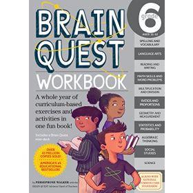 Brain Quest Workbook: Grade 6 (Paperback)