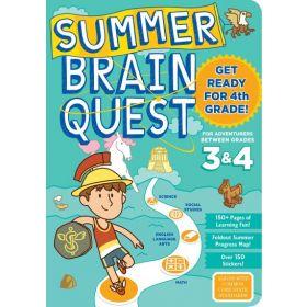 Summer Brain Quest: Between Grades 3 & 4 (Paperback)