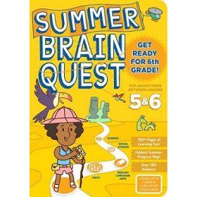 Summer Brain Quest: Between Grades 5 & 6 (Paperback)