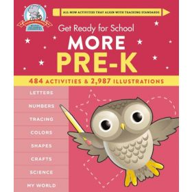 Get Ready For School: More Pre-K (Hardcover)