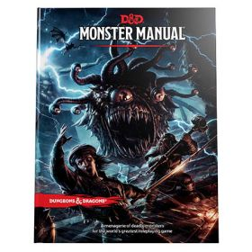 Monster Manual: A Dungeons & Dragons Core Rulebook (Hardcover)