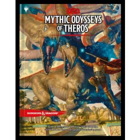 Dungeons & Dragons Mythic Odysseys of Theros (Hardcover)