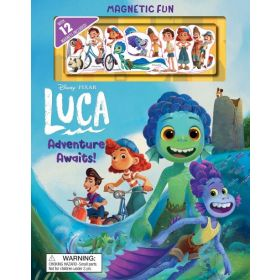 Disney Pixar: Luca, Adventure Awaits! (Hardcover)