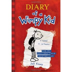 Diary of a Wimpy Kid: A Novel in Cartoons, Book 1 (Paperback)