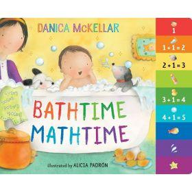 Bathtime Mathtime (Board Book)