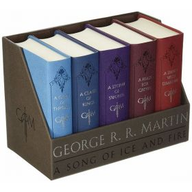 Game of Thrones Deluxe Boxed Set (Leatherbound)