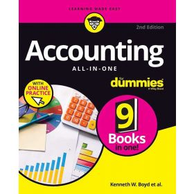 Accounting All-in-One For Dummies with Online Practice, 2nd Edition (Paperback)