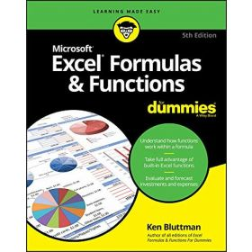 Excel Formulas & Functions For Dummies, 5th Edition (Paperback)