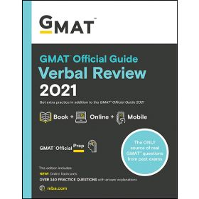 GMAT Official Guide 2021 Verbal Review: Book + Online Book + Online (Paperback)
