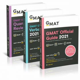 GMAT Official Guide 2021 Bundle, Books + Online Question Bank: Books + Online Question Bank (Paperback)