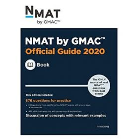 NMAT by GMAC: Official Guide 2020 (Paperback)