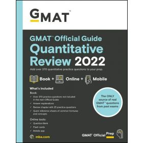 GMAT Official Guide Quantitative Review 2022: Book + Online Question Bank (Paperback)