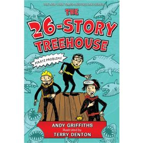 The 26-Story Treehouse: Pirate Problems!, Book 2  (Paperback)