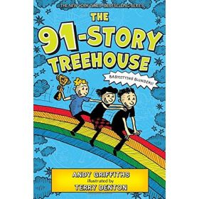 The 91-Story Treehouse: Babysitting Blunders! (Hardcover)