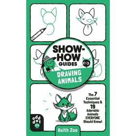 Show-How Guides: Drawing Animals (Paperback)