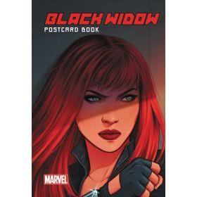 Black Widow PostCard Book (Hardcover)