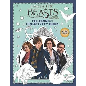 Fantastic Beasts and Where to Find Them: Coloring and Creativity Book (Paperback)