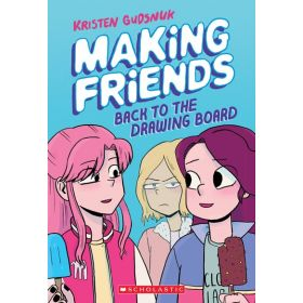 Back to the Drawing Board: Making Friends, Book 2 (Paperback)