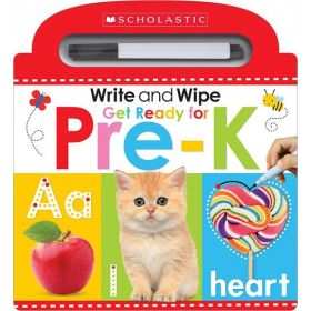Write and Wipe Get Ready for Pre-K: Scholastic Early Learners (Board Book)