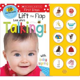 Scholastic Early Learners: Look Who's Talking! Lift the Flap (Sound Book)