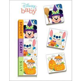 Disney Baby Spooky, Scary, Silly (Board Book)