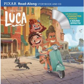 Luca Read-Along Storybook and CD (Paperback)