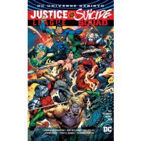 Justice League vs. Suicide Squad, DC Universe Rebirth (Hardcover)