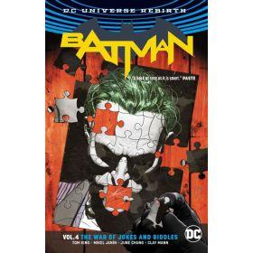 Batman Vol. 4: The War of Jokes and Riddles, Rebirth (Paperback)