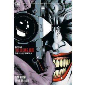 Batman: The Killing Joke Deluxe, New Edition (Hardcover)