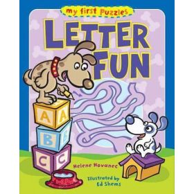 My First Puzzles: Letter Fun (Paperback)